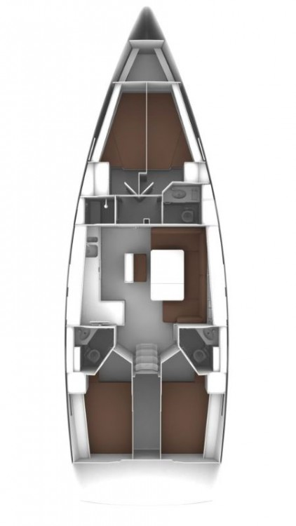 Bavaria Bavaria Cruiser 46 - 4 cab. entre particuliers et professionnel à Égée-Méridionale