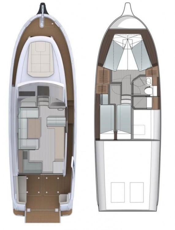 Louer Bateau à moteur avec ou sans skipper Seaway à Zadar