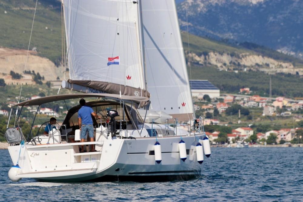 Location bateau Croatie pas cher Dufour 460 GL