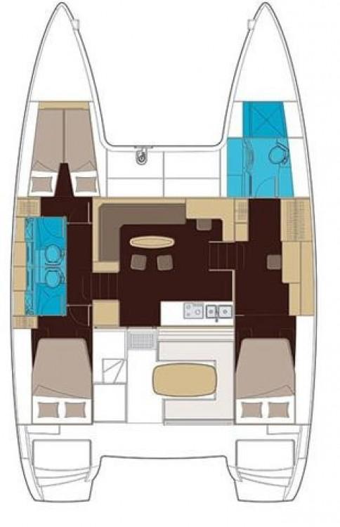 Louer Catamaran avec ou sans skipper Lagoon à Dereköy