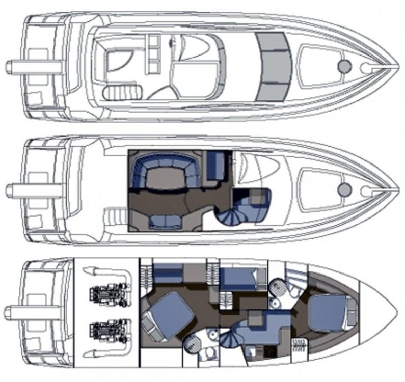 Location yacht à Podstrana - Sunseeker-International Sunseeker Manhattan 50 - 3 cab. sur SamBoat
