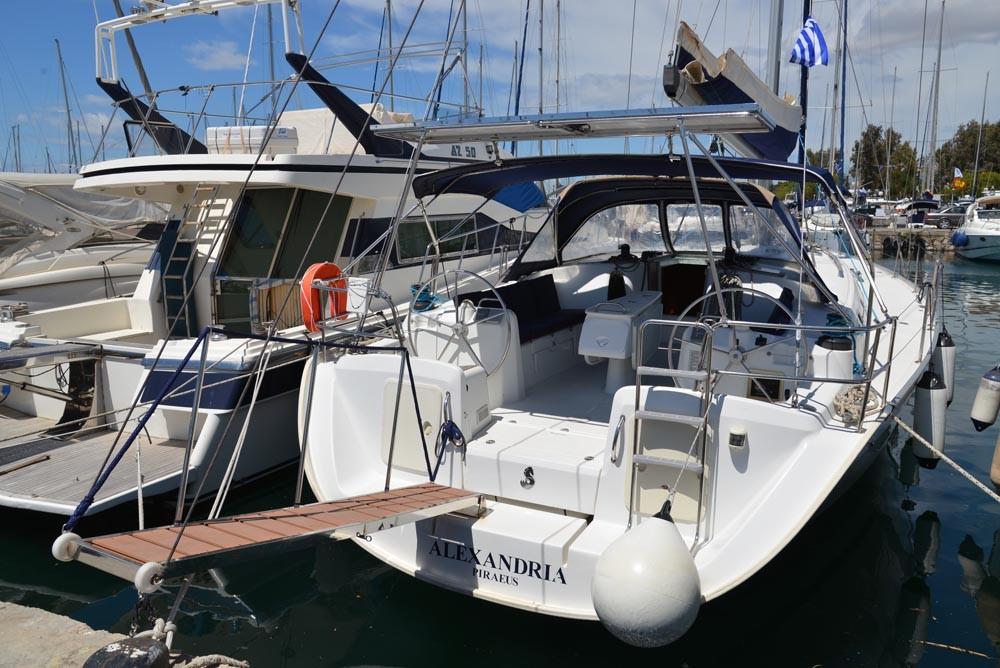 Bénéteau Cyclades 50.5 entre particuliers et professionnel à Péloponnèse