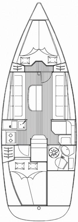 Location bateau Bavaria Cruiser 30 à  sur Samboat