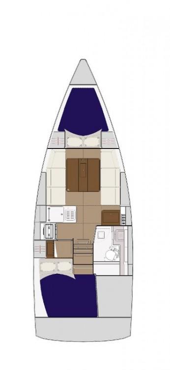 Location yacht à Croatie - Dufour Dufour 310 Grand Large sur SamBoat