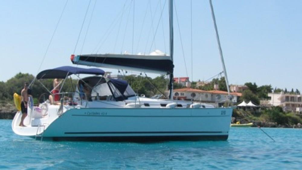 Location bateau Péloponnèse pas cher Cyclades 434