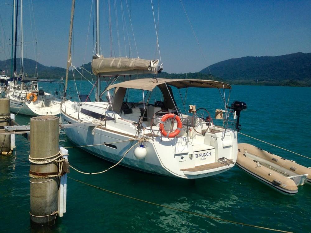 Location bateau Koh Chang Tai pas cher Sun Odyssey 409