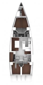Bavaria Cruiser 56 entre particuliers et professionnel à Biograd na Moru