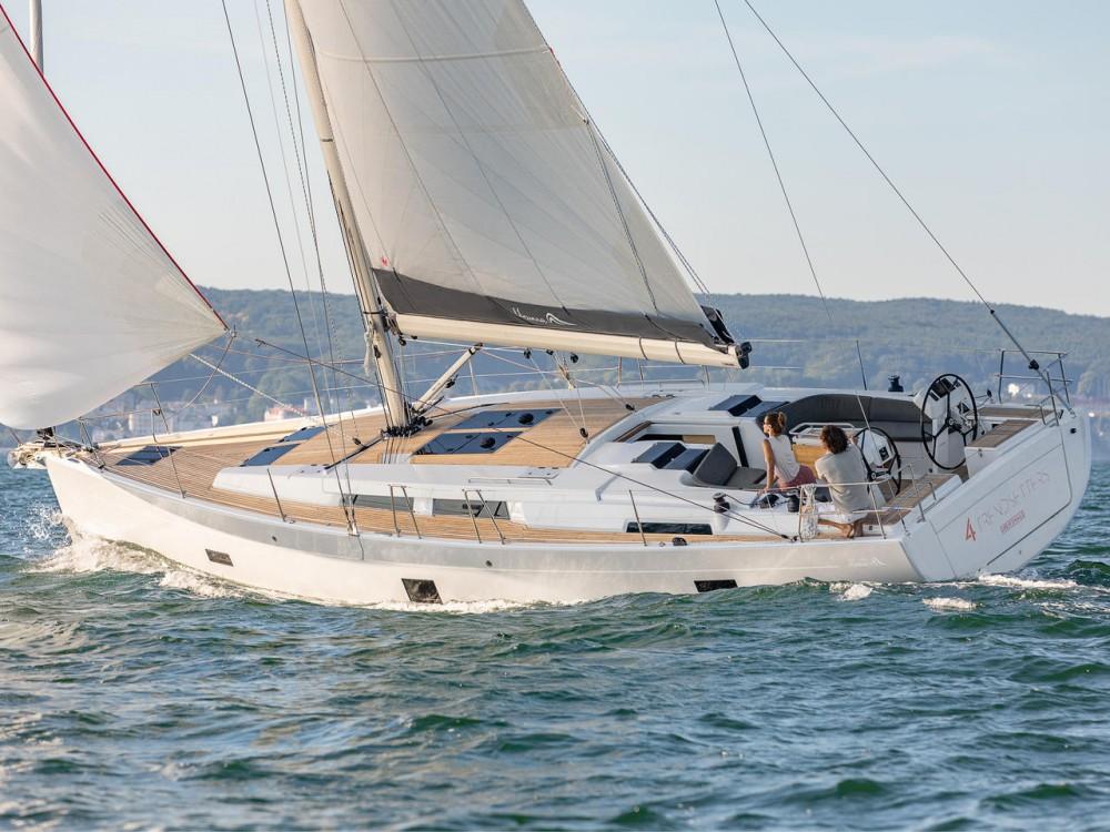 Location bateau Péloponnèse pas cher Hanse 458