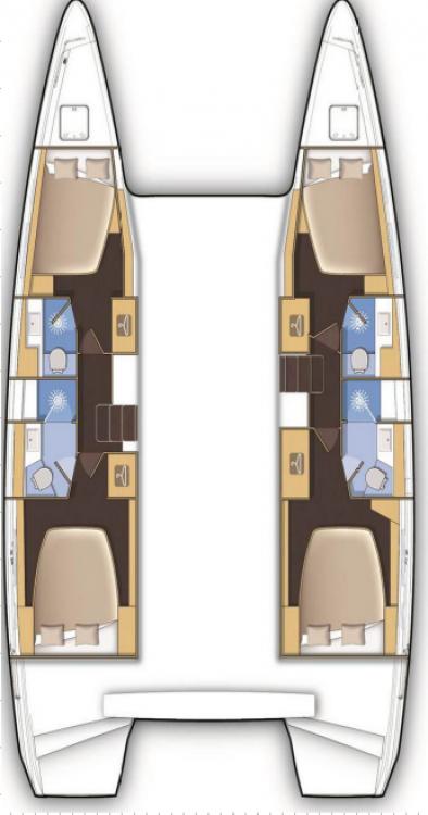 Location yacht à Croatie - Lagoon Lagoon 42 sur SamBoat