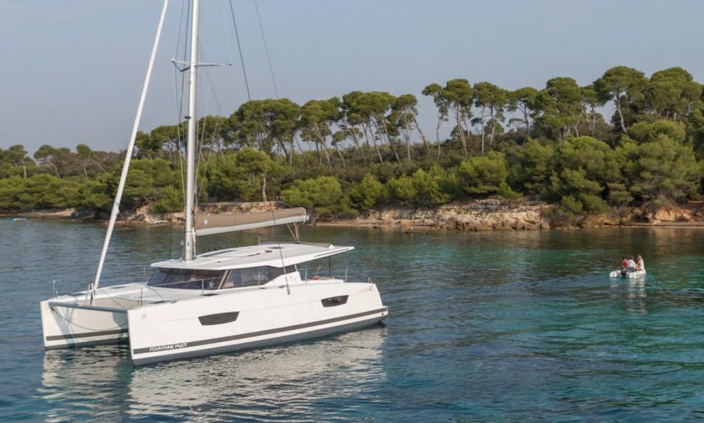 Louer Catamaran avec ou sans skipper Fountaine Pajot à Tortola