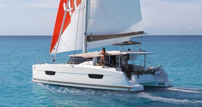 Location Catamaran Fountaine Pajot avec permis