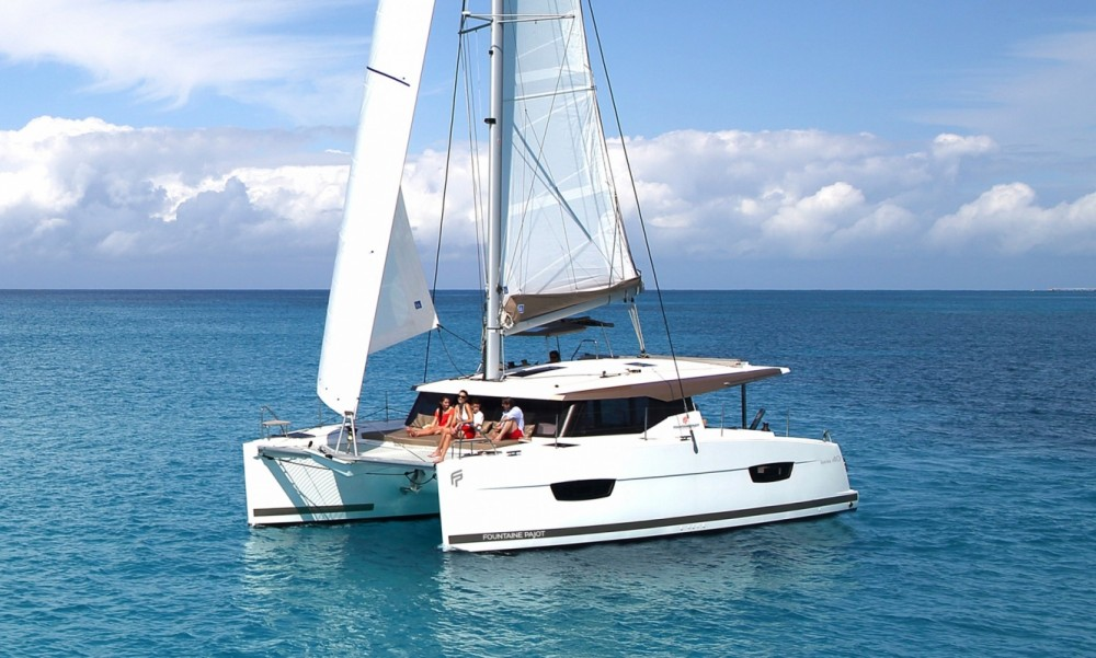 Location Catamaran à Tortola - Fountaine Pajot Fountaine Pajot Lucia 40 - 3 cab.