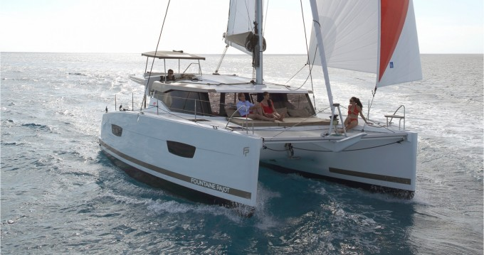 Location Catamaran à Marina Cay - Fountaine Pajot Lucia 40