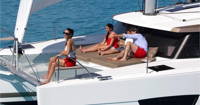 Location bateau Marina Cay pas cher Lucia 40
