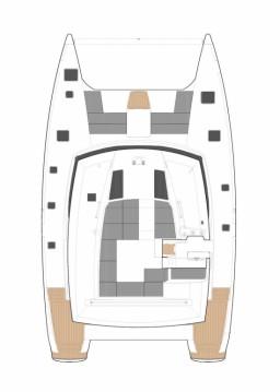 Location bateau Marina Cay pas cher Saba 50