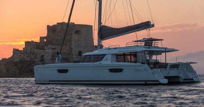 Louer Catamaran avec ou sans skipper Fountaine Pajot à Marina Cay
