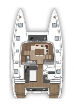 Location Catamaran à Athènes - Lagoon Lagoon 40