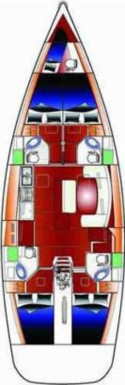 Location yacht à Follonica - Bénéteau Cyclades 50.4 - 4 + 1 cab. sur SamBoat