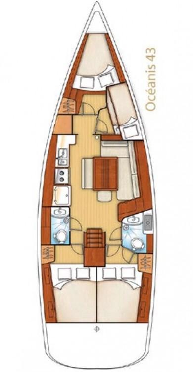 Location bateau Bénéteau Oceanis 43 à Péloponnèse sur Samboat