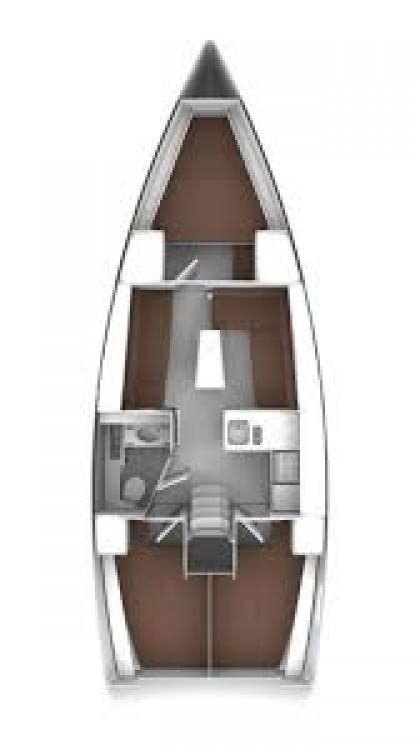 Location bateau Égée-Méridionale pas cher Bavaria 37 Cruiser