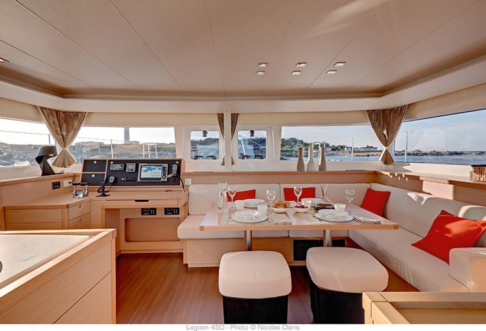 Location Catamaran à Volos - Lagoon Lagoon 450 - 4 + 2 cab.