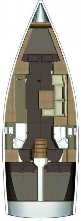 Location bateau Dufour Dufour 382 GL à Fethiye sur Samboat