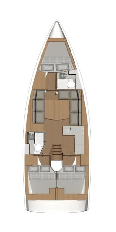 Location bateau Seget Donji pas cher Dufour 390 GL