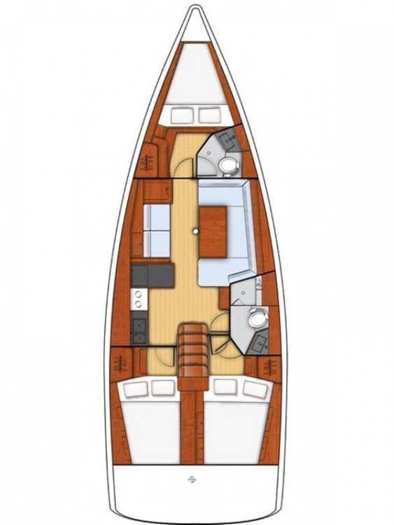 Location Voilier à Péloponnèse - Bénéteau Oceanis 411