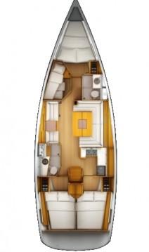 Location yacht à Lefkada (Île) - Jeanneau Sun Odyssey 439 sur SamBoat