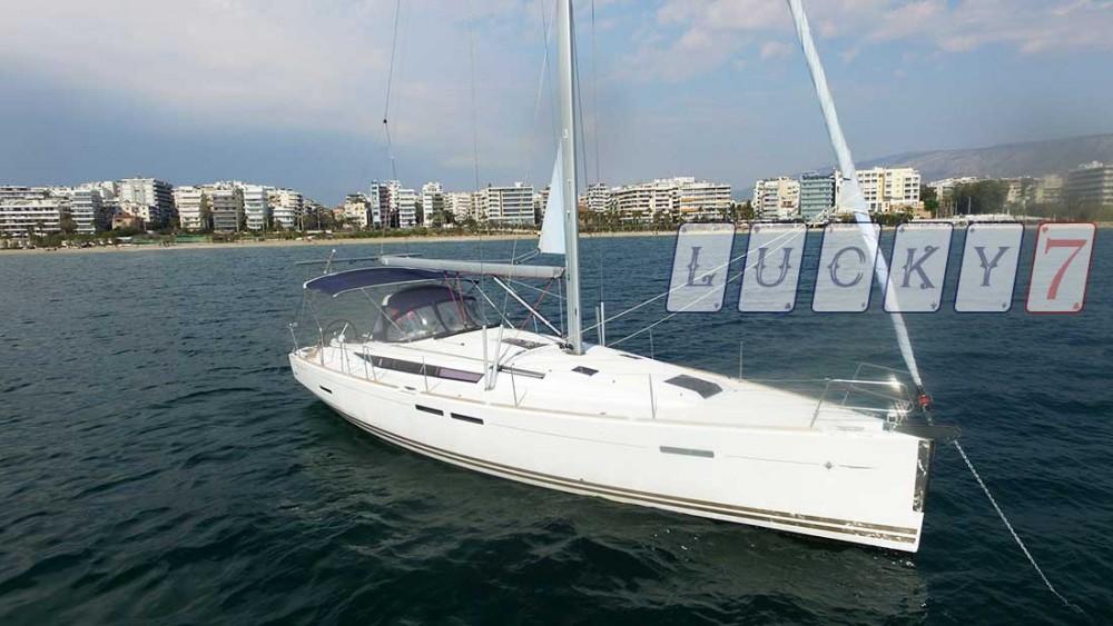 Location bateau Péloponnèse pas cher Sun Odyssey 439