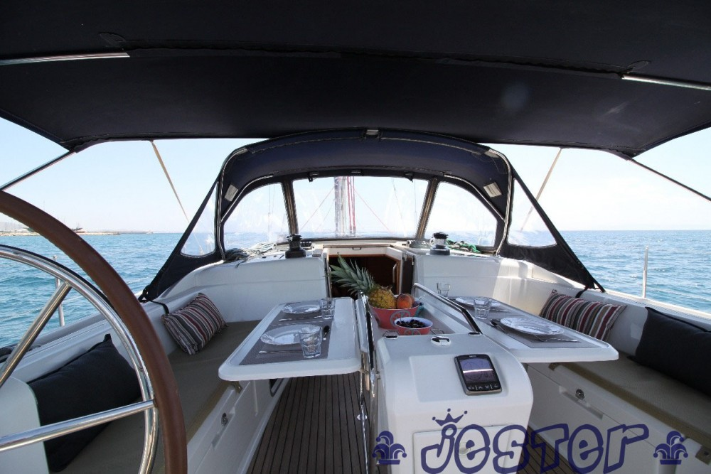 Louez un Jeanneau Sun Odyssey 509 - 5 + 1 cab. à Peloponnese