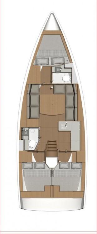 Location yacht à Croatie - Dufour Dufour 390 GL sur SamBoat