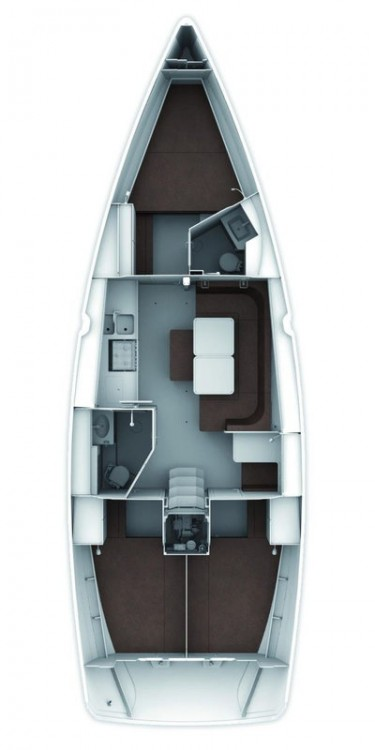 Location bateau Split pas cher Cruiser 41 S