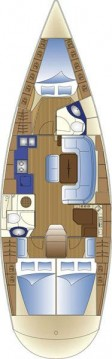 Location bateau Bavaria Bavaria 42 Cruiser à Trogir sur Samboat
