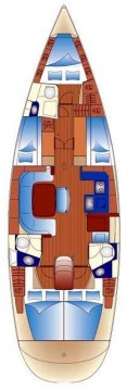 Location bateau Trogir pas cher Bavaria 49