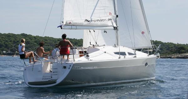 Location yacht à Primošten - Elan Impression 344 sur SamBoat