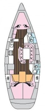 Location bateau Trogir pas cher Sun Odyssey 42.2 Exclusive - 3 cab.