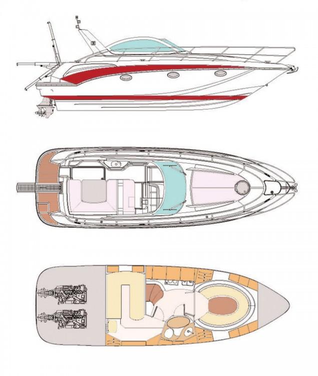 Location bateau Pearl-Sea-Yachts-Doo Pearlsea 33 Open à Baška Voda sur Samboat