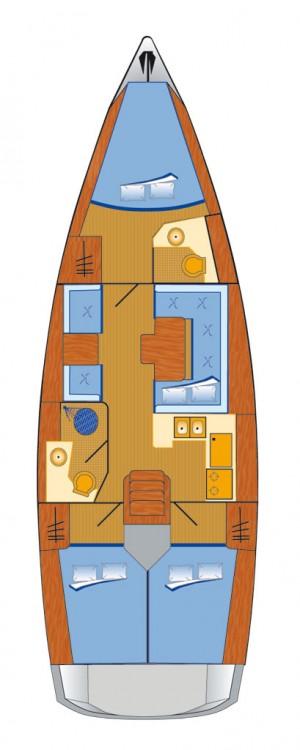 Location bateau Can Pastilla pas cher Sun Odyssey 409