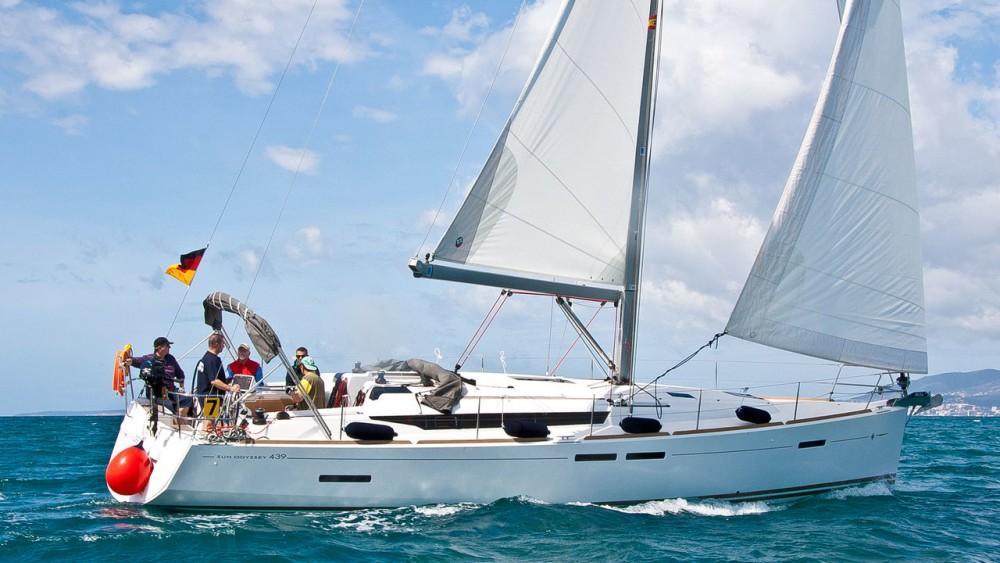 Jeanneau Sun Odyssey 439 entre particuliers et professionnel à Can Pastilla