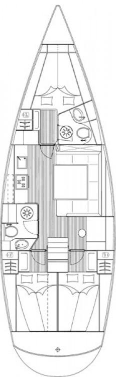 Location bateau Leucade pas cher Cruiser 43