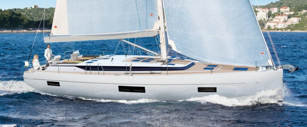 Location bateau Péloponnèse pas cher Bavaria C50 - 5 + 1 cab.