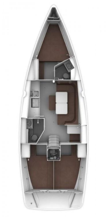 Location bateau Péloponnèse pas cher Cruiser 41