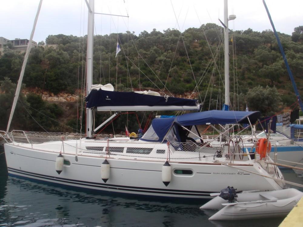 Location Voilier à Lefkada - Jeanneau Sun Odyssey 42i