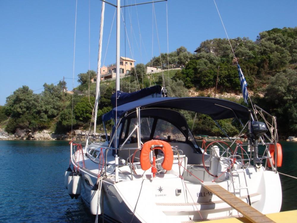 Jeanneau Sun Odyssey 42i entre particuliers et professionnel à Lefkada