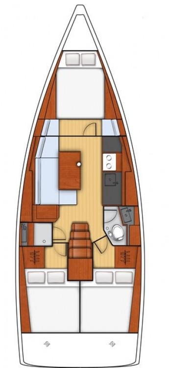 Location bateau Bénéteau Oceanis 38.1 à Sardaigne sur Samboat