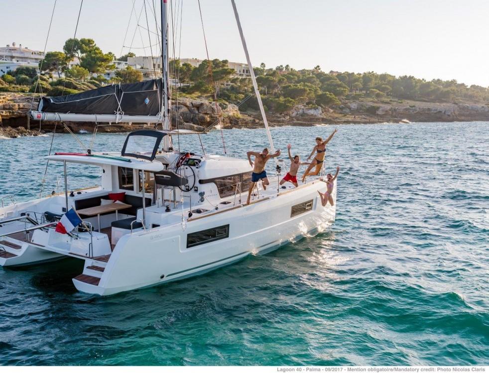 Location Catamaran à Péloponnèse - Lagoon Lagoon 40 - 4 + 2 cab