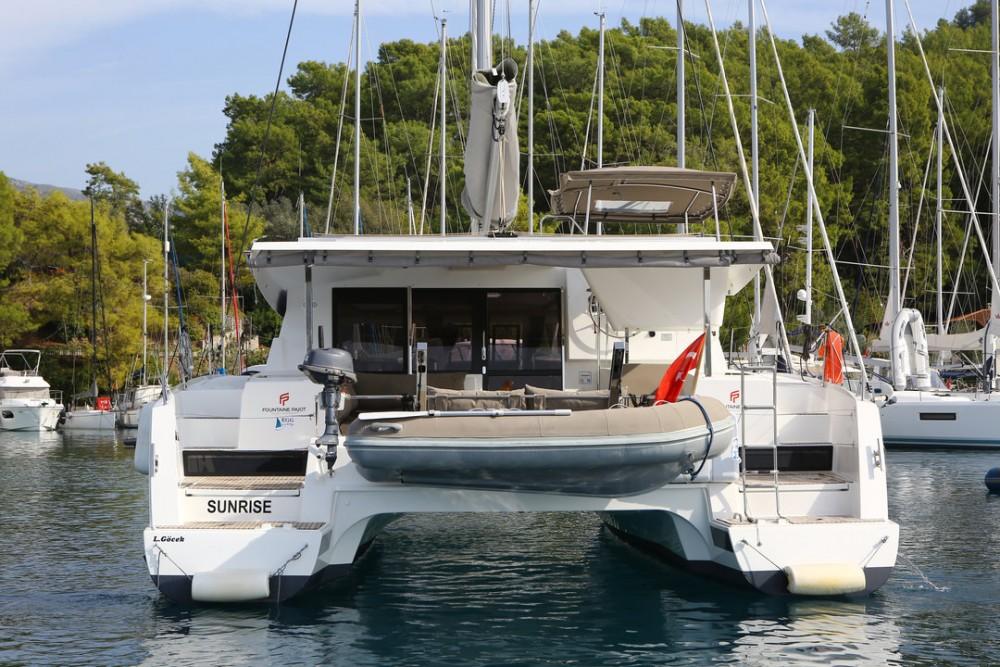 Location yacht à Göcek - Fountaine Pajot Fountaine Pajot Lucia 40 sur SamBoat