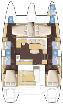 Catamaran à louer à Kaštela au meilleur prix