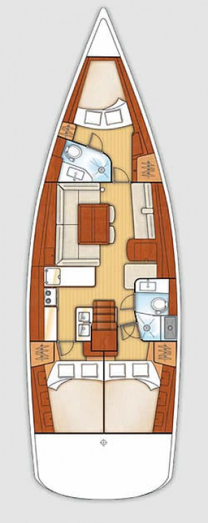 Location bateau Bénéteau Oceanis 46 - 3 cab. à Croatie sur Samboat